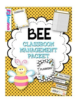 BEE Themed Classroom Management Pack