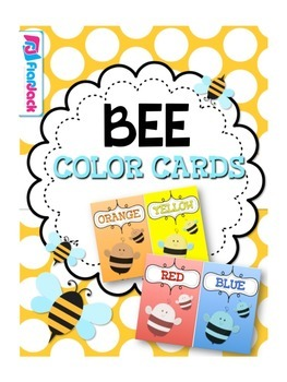 BEE Themed Color Cards Posters