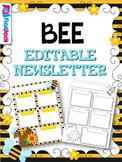 BEE Themed Editable Newsletter