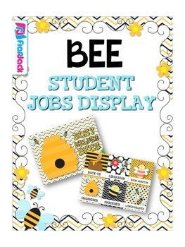 BEE Themed Student Jobs Display