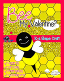 BEE Valentine Shape Craft