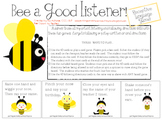 DISTANCE LEARNING Language Game: BEE a Good Listener!
