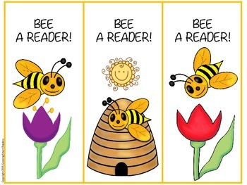 BEE a Reader! Bookmarks