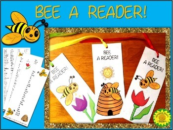 BEES Sight Words Bookmarks
