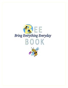BEE binder cover (Moose book)