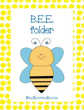 BEE (bring everything everyday) Folder Covers