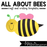 Bee Craft and Writing Spring Craft