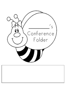 BEE theme conference folder cover