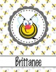 BEES - Binder Covers / MS Word, you personalize