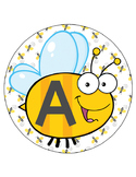 BEES - Bulletin Board Circle Letters / Word Wall / bee