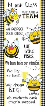 BEES - Classroom Decor: LARGE BANNER, In Our Class