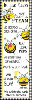 BEES - Classroom Decor: X-LARGE BANNER, In Our Class...
