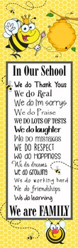 BEES - Classroom Decor: X-LARGE BANNER, In Our School ...