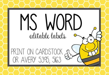Avery 5395 Template For Word from ecdn.teacherspayteachers.com