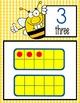 BEES - Number Line Banner, 0 to 20, Illustrated, Base Ten Frames