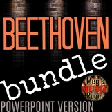 BEETHOVEN BUNDLE for POWERPOINT - Beethoven Games for Elementary Music
