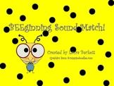 BEEginning Sounds!
