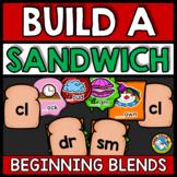 BEGINNING BLENDS ACTIVITIES (BUILD A SANDWICH GAME)