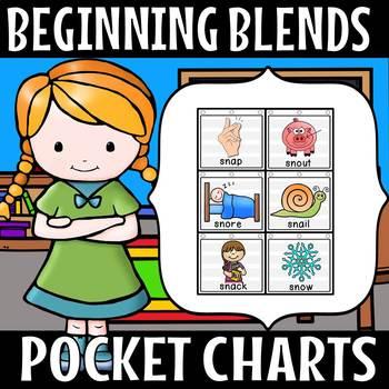 BEGINNING BLENDS  POCKET CHARTS 50% off for 48 hours)