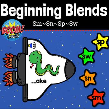 BEGINNING BLENDS- SM, SN, SP, SW: BOOM CARDS