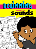 BEGINNING CONSONANT SOUNDS * PHONEMIC AWARENESS