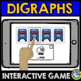 BOOM CARDS KINDERGARTEN PHONICS REVIEW (CONSONANT DIGRAPHS GAME DIGITAL ACTIVITY
