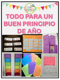 BACK TO SCHOOL BUNDLE IN SPANISH - REGRESO A CLASES