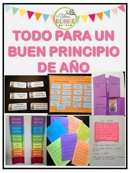 BACK TO SCHOOL BUNDLE {IN SPANISH} - PAQUETE PARA EL REGRE