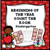 BEGINNING OF THE YEAR COUNT THE ROOM - Kindergarten