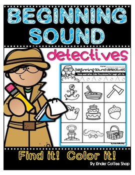 Beginning Sounds Detectives Need To File 2 t