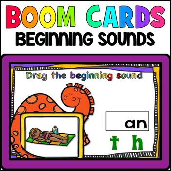 BEGINNING SOUNDS: BOOM CARDS