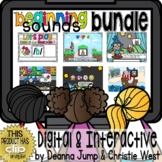 BEGINNING SOUNDS DIGITAL PHONICS & PHONEMIC AWARENESS BUNDLE