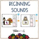 BEGINNING SOUNDS DIGITAL TASK CARDS