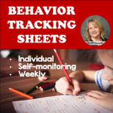 Behavior Tracking Sheets