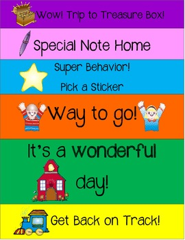 BEHAVIOR CLIP CHART--FREEBIE!!
