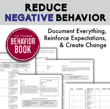 BEHAVIOR MANAGEMENT BUNDLE - Save 15%