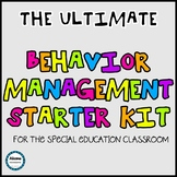 BEHAVIOR MANAGEMENT STARTER BUNDLE- SPED/AUTISM