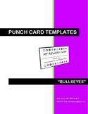 BEHAVIOR MANAGEMENT REWARD CARDS - BULLSEYE