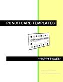 BEHAVIOR MANAGEMENT REWARD CARDS - HAPPY FACES