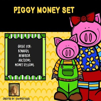 PIGS BEHAVIOR REWARDS and CLASSROOM MANAGEMENT and CHARACT