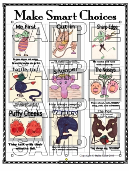 BEHAVIOR SMART CHOICES POSTER