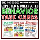EXPECTED AND UNEXPECTED BEHAVIOR TASK CARDS
