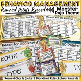 BEHAVIOR MANAGEMENT EDITABLE REWARD CHARTS: MONSTER/CLASS DOJO