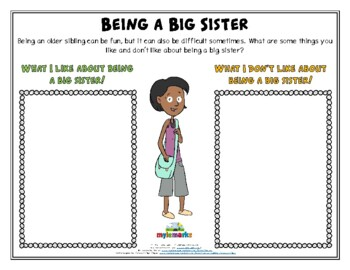BEING A BIG SISTER