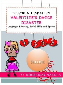 BELINDA ZENDALL'S VALENTINE'S DANCE DISASTER - FREEBIE!