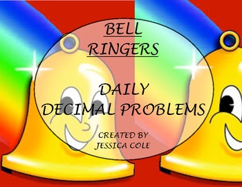 BELL RINGER: Daily Decimals (20 days)