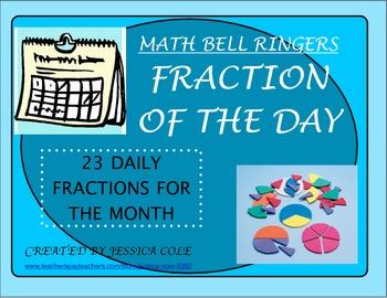 BELL RINGER: Fraction of the Day (23 days)