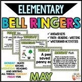 BELL RINGERS for elementary - MAY
