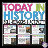 HISTORY BELL RINGERS: TODAY IN HISTORY