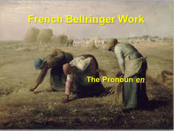 BELLWORK French Pronouns Bundle